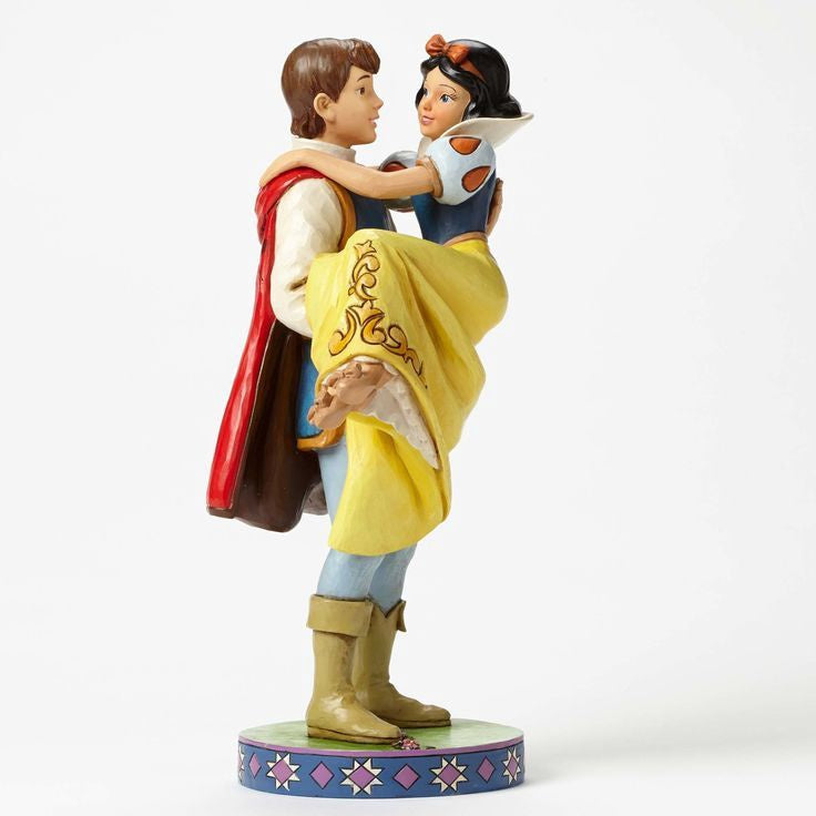 Disney Traditions Snow White & Prince Charming (Happily Ever After) 9.5