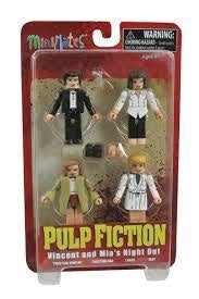 Minimates Pulp Fiction Vincent & Mia's Night Out (Jack Rabbit Slims) 4-Pack