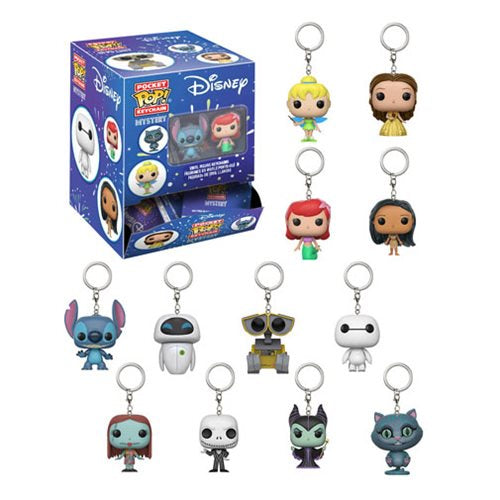 Disney Series 1 Pocket Pop! Key Chain Display Case- Assorted Singles
