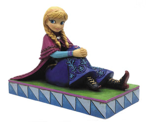 "Disney Traditions Anna Personality Pose 3.5"" Statue Figurine"