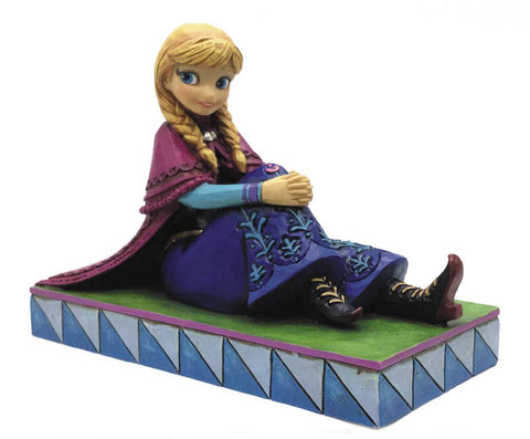 "Disney Enesco Traditions Anna Personality Pose 3.5"" Statue Figurine"