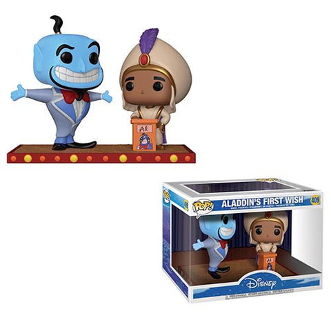 Funko Aladdin Genie Movie Moment 2-pack Pop! Vinyl Figure Kramer Toy Warden Greenhills, Alabang Mall, Philippines