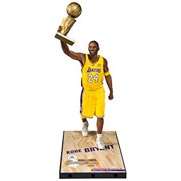 NBA Kobe Bryant 2010 (Home yellow #24 jersey)  Championship Series Action Figure