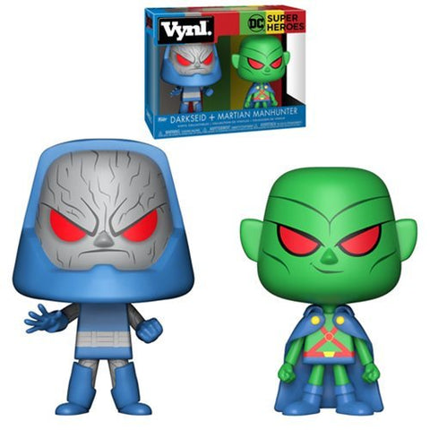 DC Comics Martian Manhunter and Darkseid VYNL Figure 2-Pack