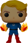 Fantastic Four Human Torch Suited Glow in the Dark Exclusive Pop! Vinyl Figure