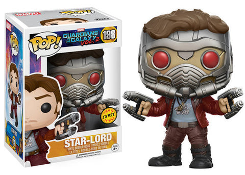 Guardians of the Galaxy Vol. 2 Star-Lord Pop! Vinyl Figure CHASE