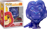 The Lion King - Mufasa Spirit Translucent Glitter Pop! Vinyl Figure Exclusive