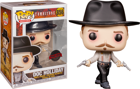 Tombstone - Doc Holliday Stand Off Pop! Vinyl Figure Exclusive