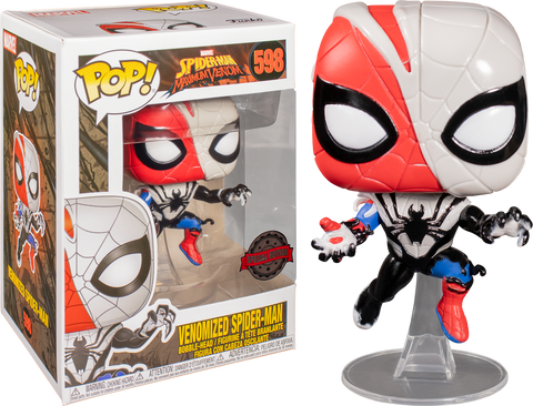 Spider-Man: Maximum Venom - Venomized Spider-Man Pop! Vinyl Figure Exclusive