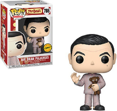 Mr. Bean Pajamas w/ Teddy Bear CHASE Pop! Vinyl Figure