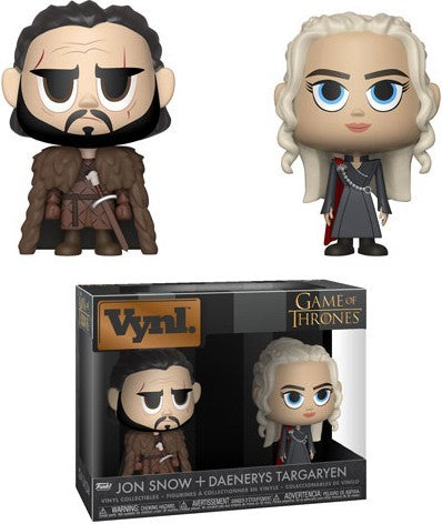 Game of Thrones Vynl. Jon Snow & Daenerys Targaryen Vinyl Figure 2-Pack