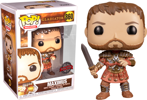 Gladiator - Maximus with Armour Pop! Vinyl Figure Exclusive