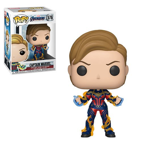 Avengers Endgame: Captain Marvel w/ New Hair Pop! Vinyl Figure