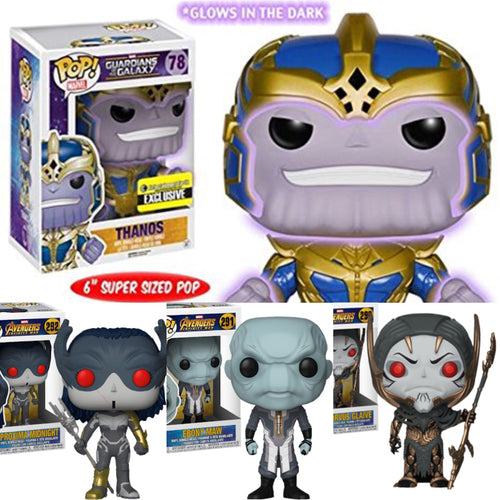 Thanos and the Black Order Pop! Vinyl Avengers Infinity War Collector Set
