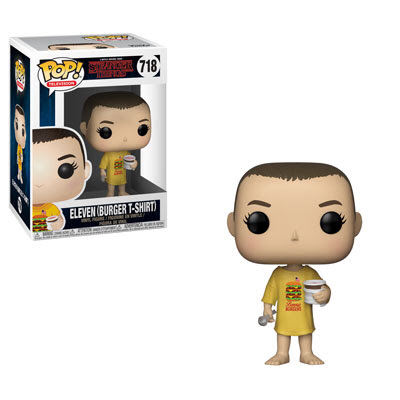 Preorder Stranger Things Eleven in Burger T-Shirt Pop! Vinyl Figure PO P550