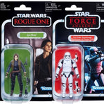 "Star Wars Vintage Collection 3.75"" Jyn Erso & First Order Stormtrooper Set"