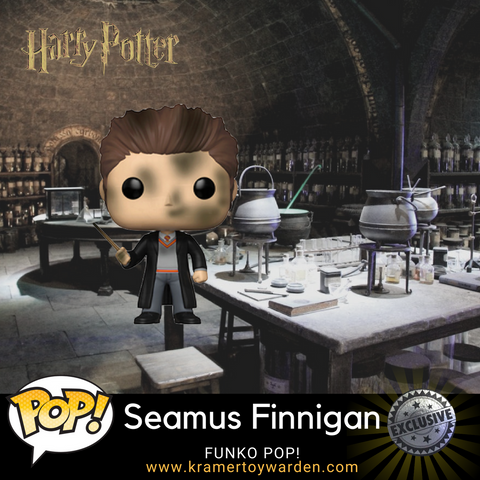 Funko Harry Potter Seamus Finnigan Wingardium Exclusive Pop! Vinyl Figure Kramer Toy Warden Greenhills, Alabang Mall, Philippines