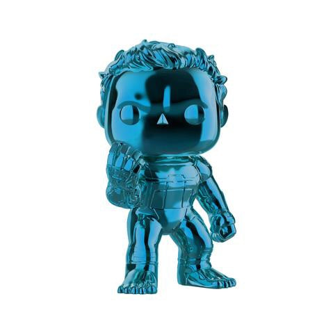 Avengers Endgame: Hulk Blue Chrome Exclusive Pop! Vinyl Figure