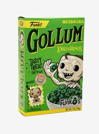 Funko Lord of The Rings  Gollum Cereal Exclusive with Pocket Pop Boxlunch Exclusive Kramer Toy Warden Greenhills, Alabang Mall, Philippines