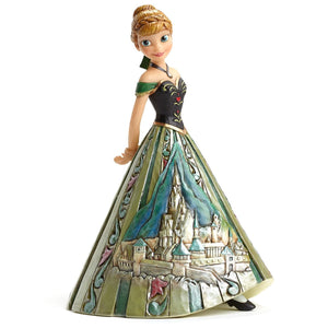 "Disney Traditions ANNA CASTLE DRESS 8"" Statue"