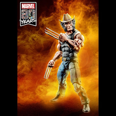 Preorder Marvel Legends Marvel 80th Anniversary X-Men Cowboy Logan Action Figure - Exclusive PO P1600