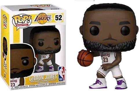 Funko NBA: Lakers - Lebron James (White Uniform) Pop! Vinyl Figure Kramer Toy Warden Greenhills, Alabang Mall, Philippines
