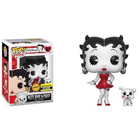 Funko Betty Boop Black-and-White Pop! Vinyl Figure and Buddy Chase Kramer Toy Warden Greenhills, Alabang Mall, Philippines