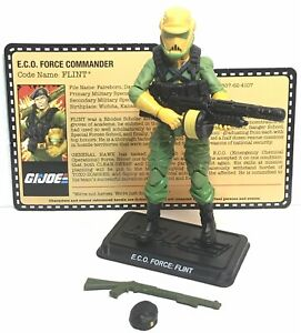 "G.I. Joe Zombie Initiative Flint 3.75"" Action Figure Loose"