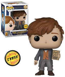Funko Fantastic Beasts Newt Scamander CHASE Pop! Vinyl Figure #14 Kramer Toy Warden Greenhills, Alabang Mall, Philippines