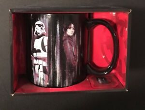 Star Wars Rogue One Jyn Erso & Stormtrooper Mug