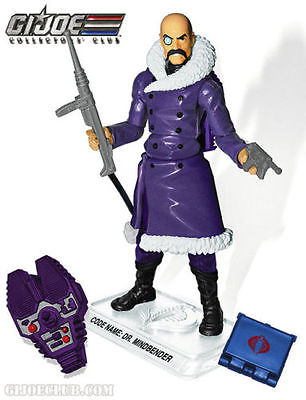 G.I. Joe 2015 GI Joe Collectors Club Arctic Dr. Mindbender 3.75 Action Figure Bagged