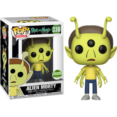 Funko Rick and Morty - Alien Morty Pop! Vinyl Figure 2018 Spring Convention Exclusive Kramer Toy Warden Greenhills, Alabang Mall, Philippines