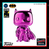 Batman Pink Chrome NYCC Stickered Exclusive Pop! Vinyl Figure