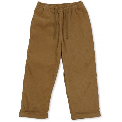 KONGES SLOEJD simme pants amber brown - Pulu