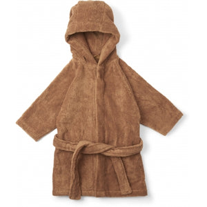 KONGES SLOEJD kids terry bathrobe almond