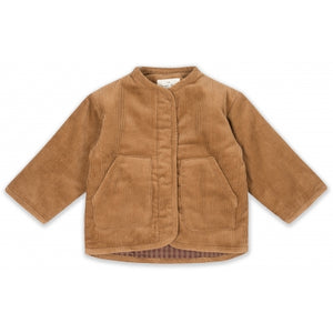 KONGES SLOEJD quilted jacket faded brown