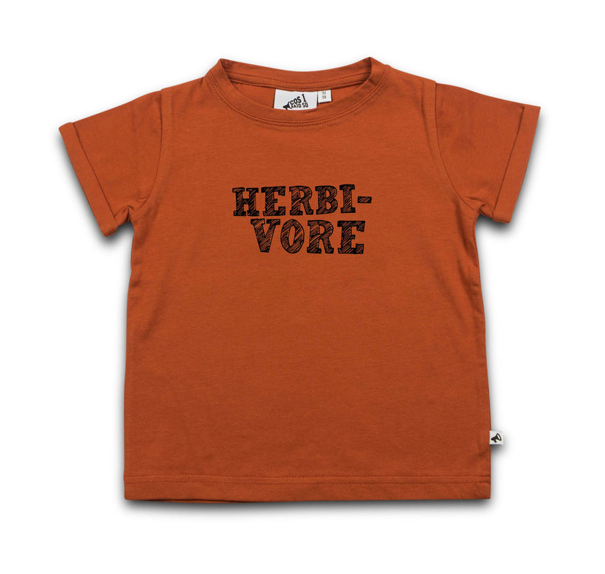 COS I SAID SO herbivore ss t-shirt potter's clay - Pulu