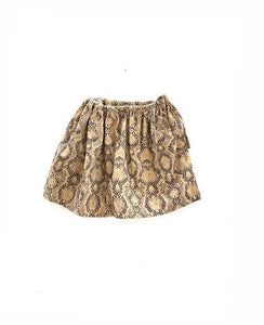 LONG LIVE THE QUEEN wide skirt python babyrip - Pulu