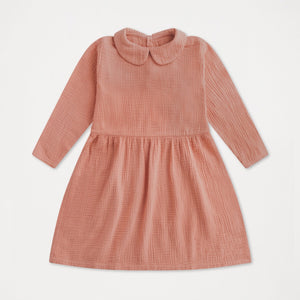 REPOSE AMS peter pan dress blushing peach - Pulu