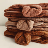 KONGES SLOEJD kids terry towel almond