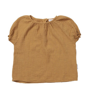 MAED FOR MINI caramel capybara blouse - Pulu