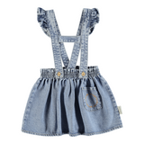 PIUPIUCHICK short strap skirt light blue denim