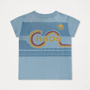 REPOSE AMS t-shirt weathered dreamy blue - Pulu