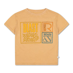 REPOSE AMS t-shirt warm sand