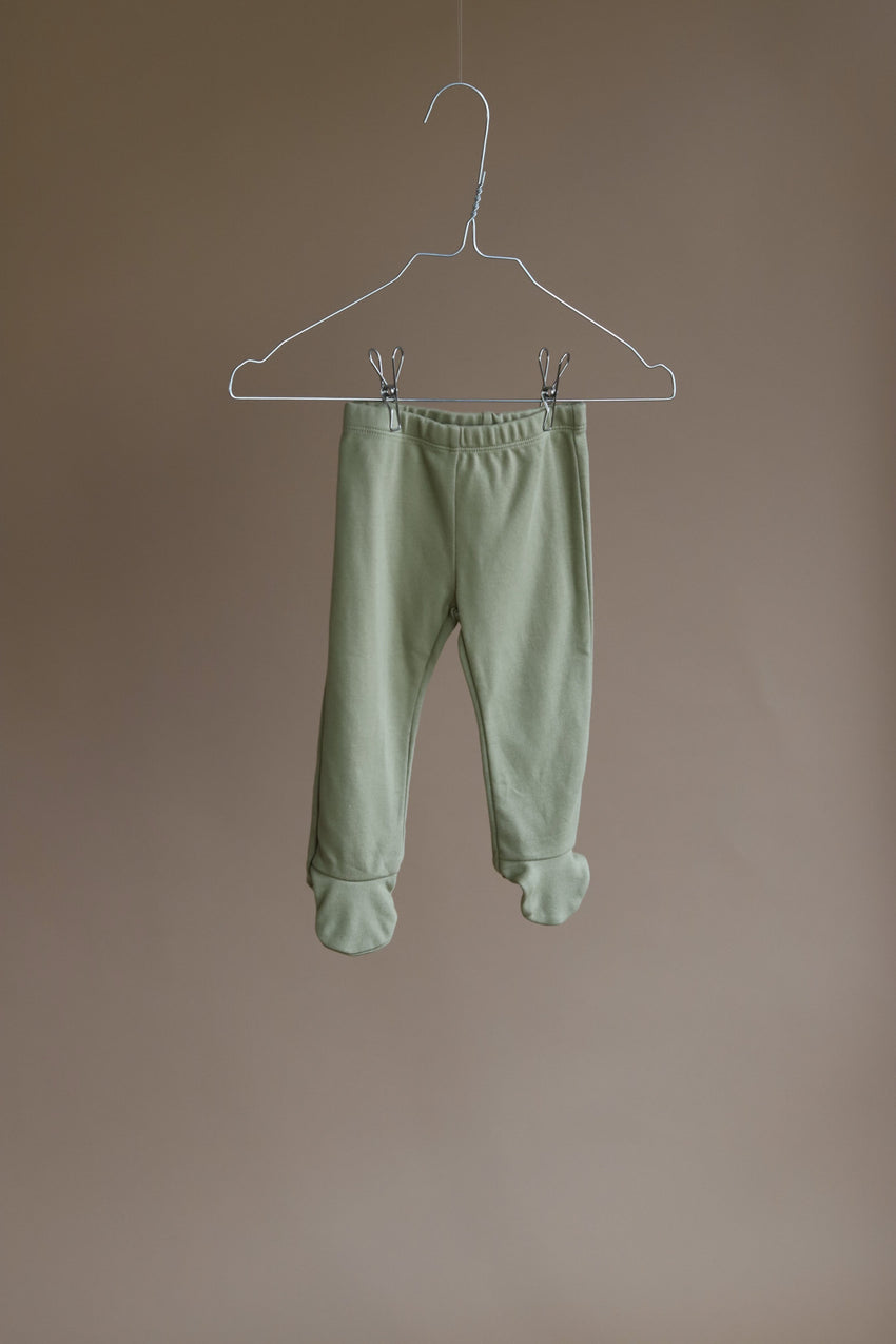 LAH LAN plain baby leggings hazel