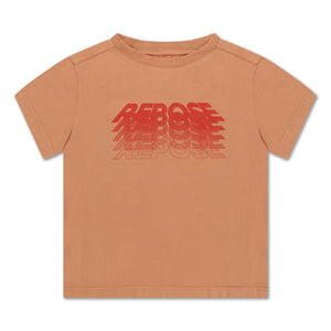 REPOSE AMS t-shirt butterscotch - Pulu