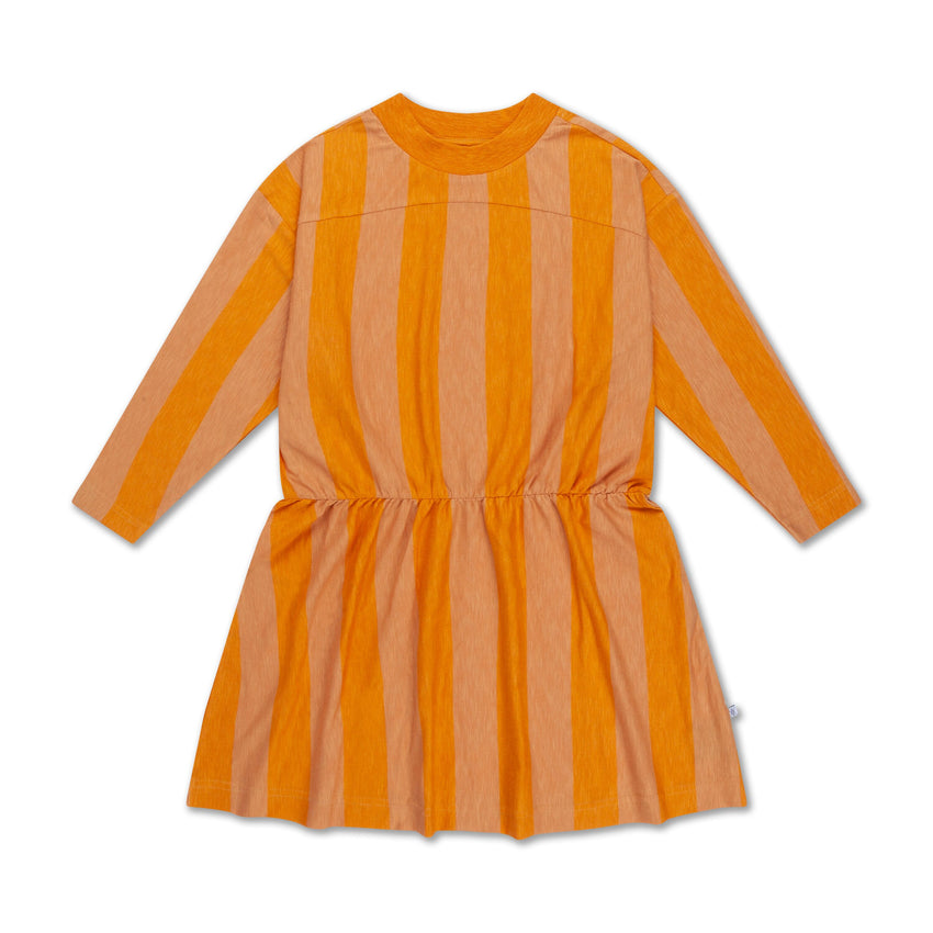 REPOSE AMS skater dress golden block stripe - Pulu