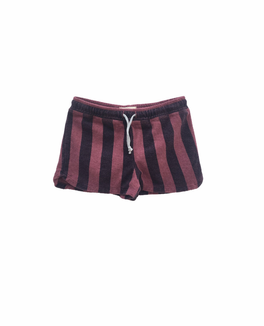 LONG LIVE THE QUEEN terry shorts rosebrown - Pulu