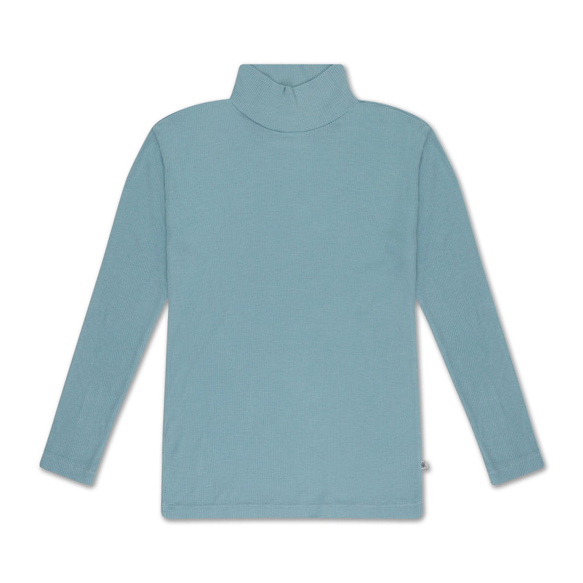 REPOSE AMS turtle neck sea greenish - Pulu