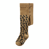 MAED FOR MINI brown leopard tights - Pulu